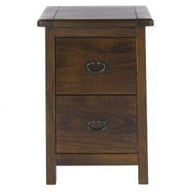 Boston 2 Drawer Petite Bedside Cabinet