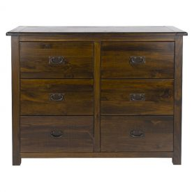 Boston 6 Drawer Wide Chest