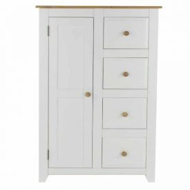 Capri 1 Door, 4 Drawer Tallboy