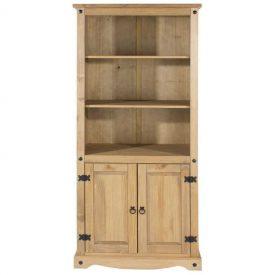Corona 3 Shelf 2 Door Bookcase