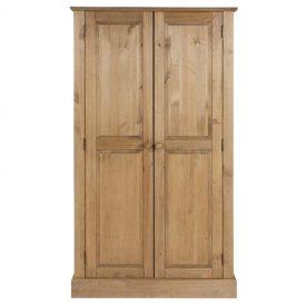 Cotswold 2 Door Wardrobe With Top Shelf