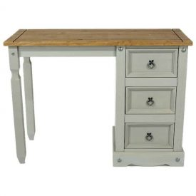 Corona Grey Washed dressing table